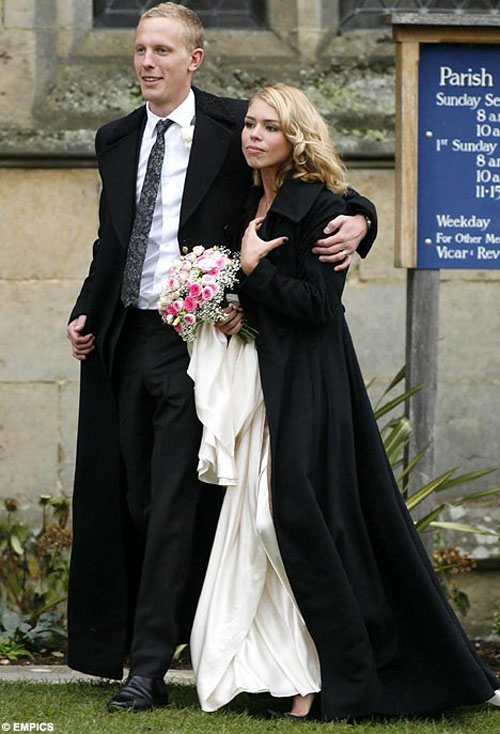 Vjenčanja poznatih: Billie Piper i Laurence Fox