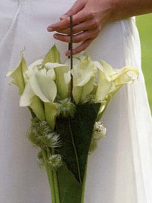 Buketi za vjenčanje: skromni mali
