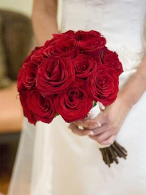 Buketi za vjenčanje: Ruže
