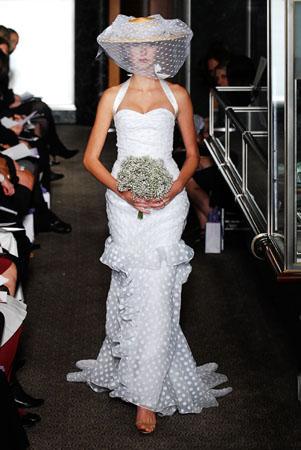 Carolina Herrera vjenčanice za proljeće 2010.