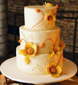 Kako izabrati boju svadbene torte