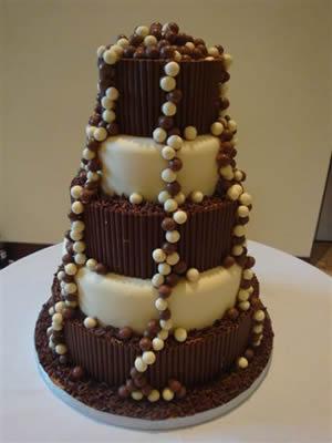 Cokoladne svadbene torte-3