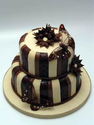 Cokoladne svadbene torte