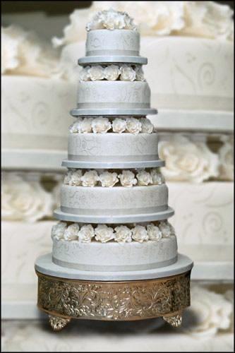 Cvjetne svadbene torte slike-3