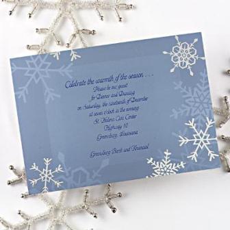 Pozivnice za zimsko vjenčanje