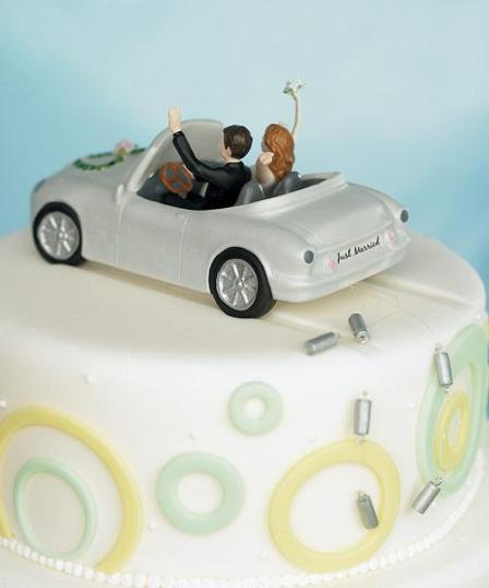 Svadbene torte – saljive figure na vrhu-3
