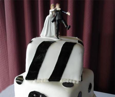 Svadbene torte – saljive figure na vrhu-5