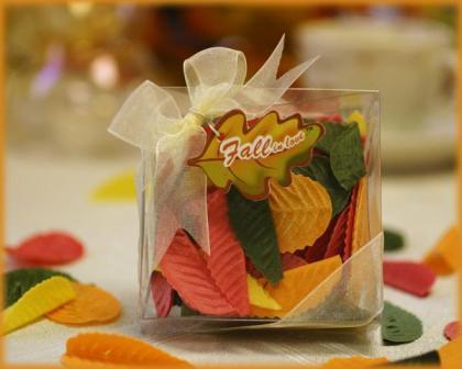 Vjenčanje u jesen - zahvalnice, konfete i pokloni za goste za-3