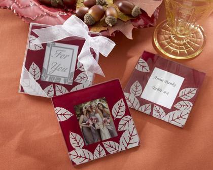 Vjenčanje u jesen - zahvalnice, konfete i pokloni za goste za-2