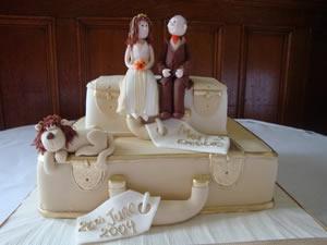figure na vrhu svadbene torte-2