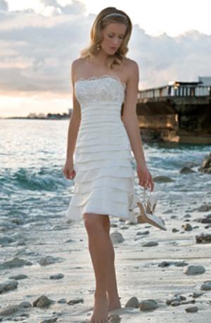 Vjenčanice za vjenčanje na plaži kolekcija za 2011.