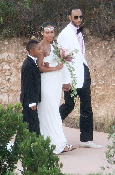 Alicia Keys u vjenčanici Vera Wang-2