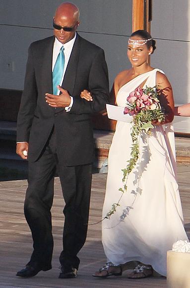 Alicia Keys u vjenčanici Vera Wang-3
