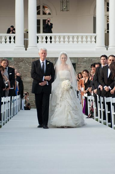 Predsjednička vjenčanja - Chelsea Clinton u vjenčanici Vere Wang-1