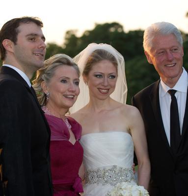 Predsjednička vjenčanja - Chelsea Clinton u vjenčanici Vere Wang-2