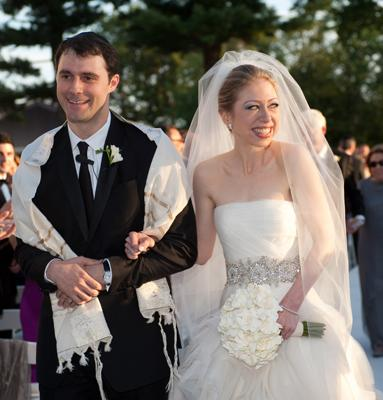 Predsjednička vjenčanja - Chelsea Clinton u vjenčanici Vere Wang-4
