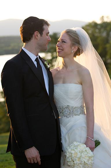 Predsjednička vjenčanja - Chelsea Clinton u vjenčanici Vere Wang-5