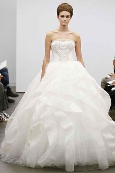 Najljepše vjenčanice za 2013.- Vera Wang