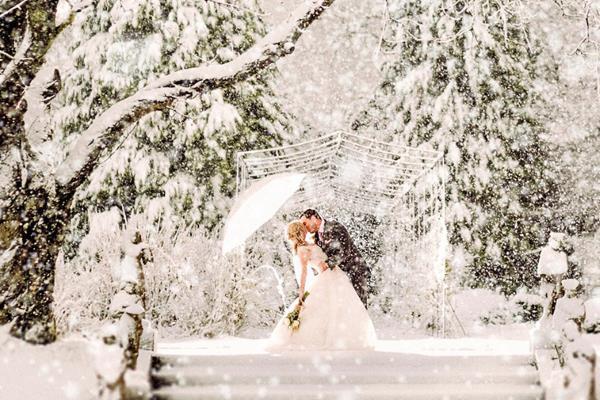 Kako planirati zimsko vjenčanje iz snova