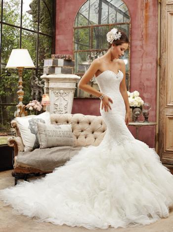 Glamurozne vjenčanice za 2014.