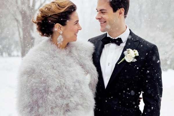 Boje za zimsko vjenčanje