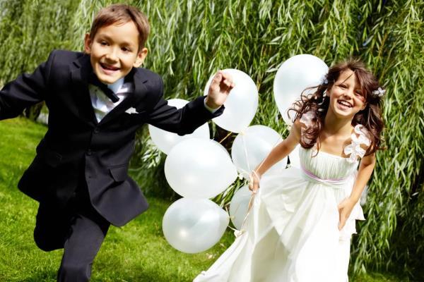 Kako zabavljati djecu na vjenčanju
