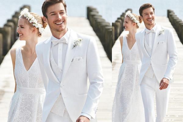 Bijelo odijelo za mladoženju